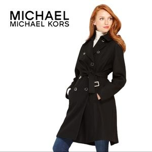 Michael Michael Kors | Belted Double Breasted Waterproof Trench Coat